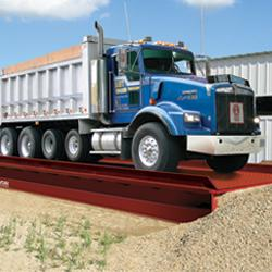 how do truck scales work?